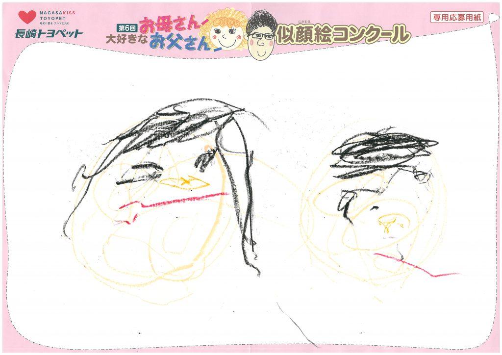 A.Kくん(2才)の作品