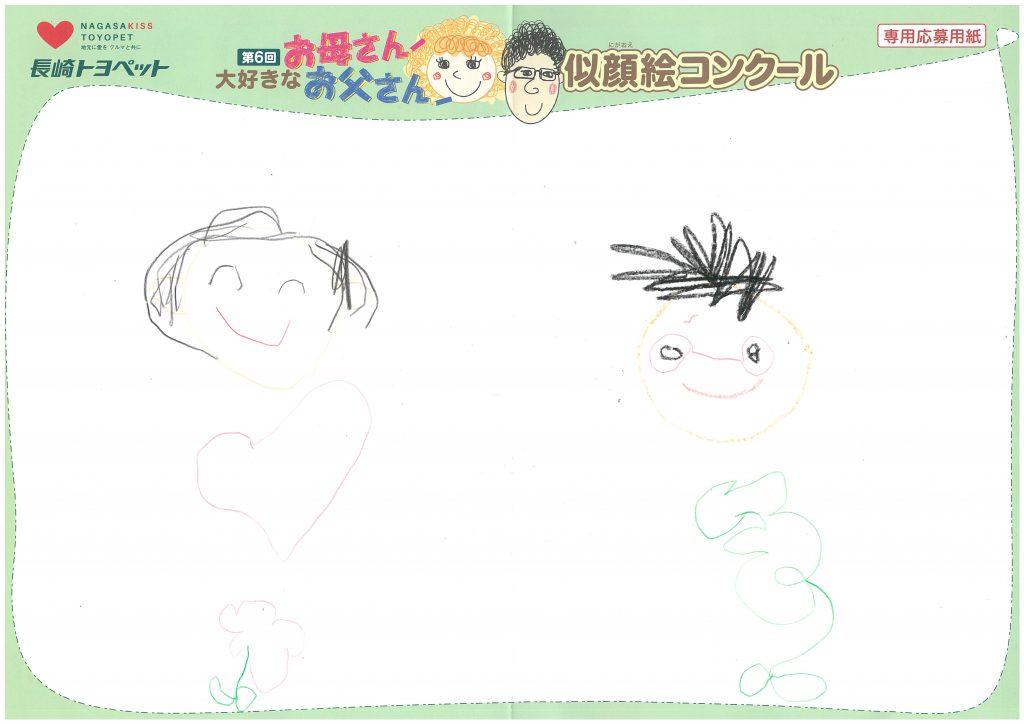 D.Hちゃん(5才)の作品