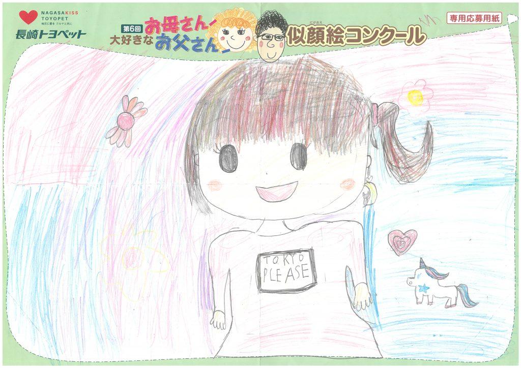 A.Yちゃん(8才)の作品