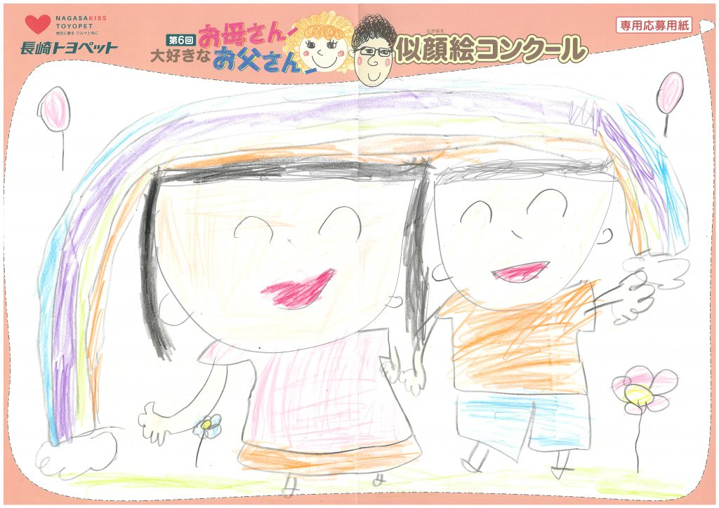 H.Kちゃん(6才)の作品