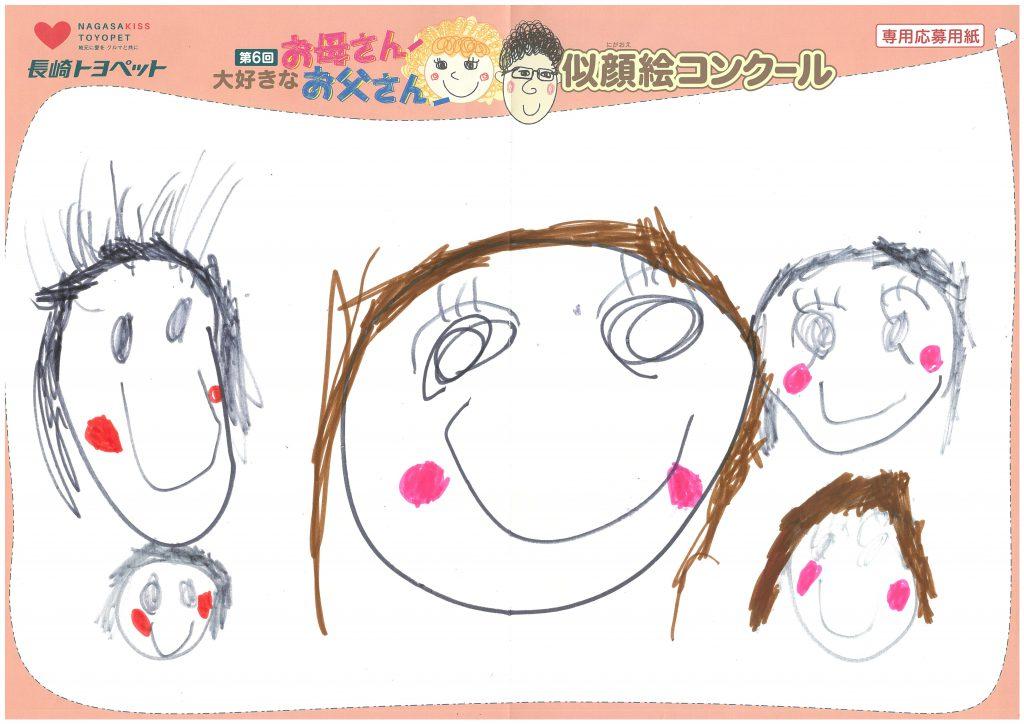 K.Sちゃん(4才)の作品