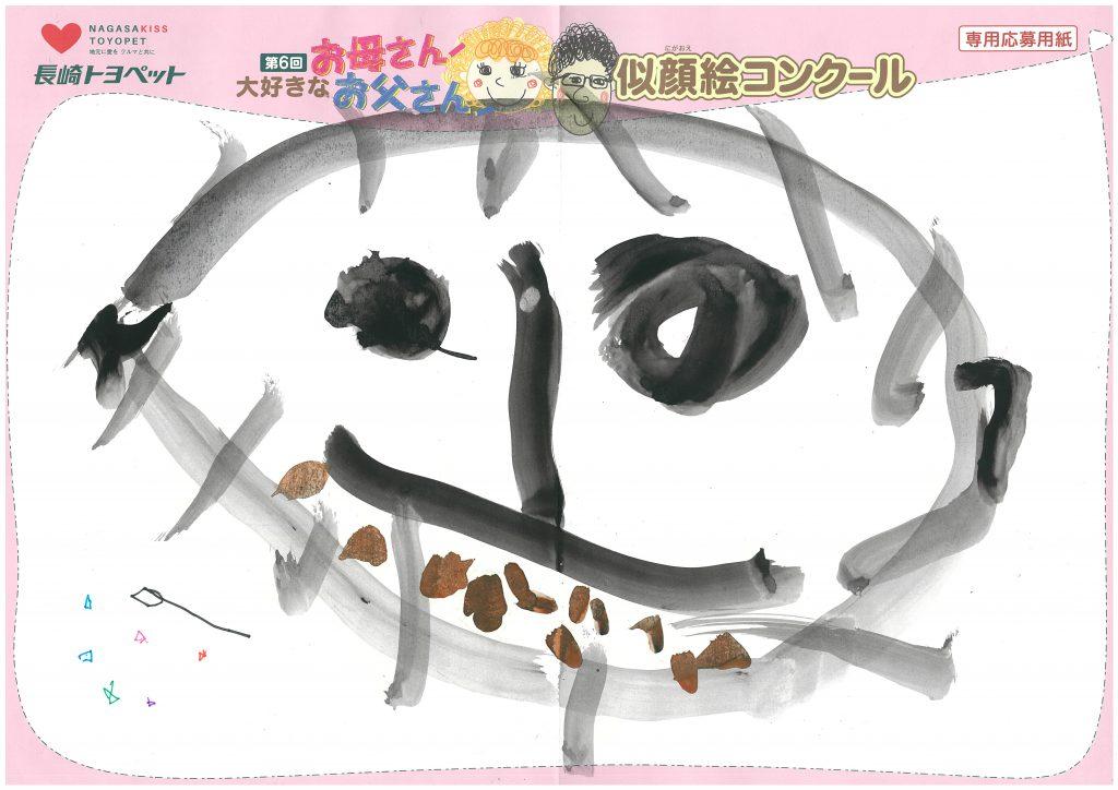 H.Aちゃん(3才)の作品