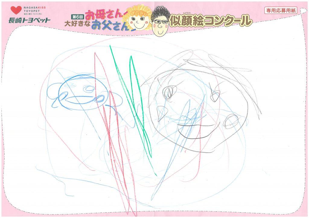 A.Iくん(2才)の作品