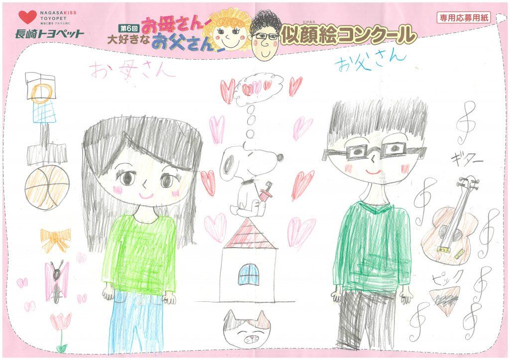S.Iちゃん(9才)の作品