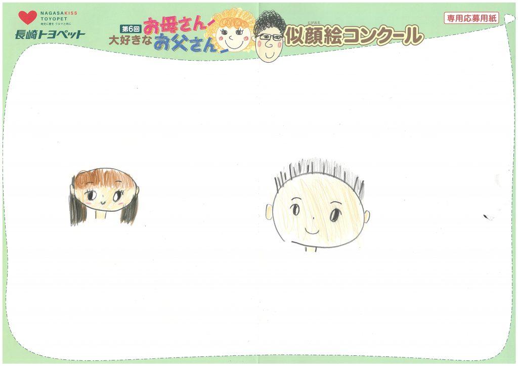 U.Mちゃん(9才)の作品