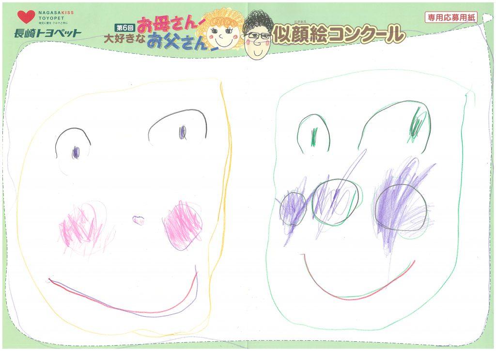 T.Iちゃん(4才)の作品