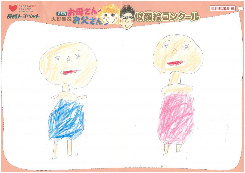 R.Mくん(6才)の作品