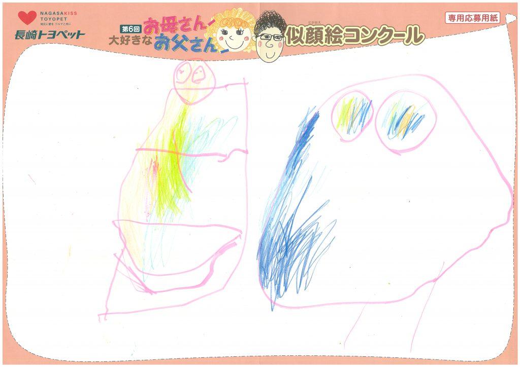 A.Mちゃん(3才)の作品