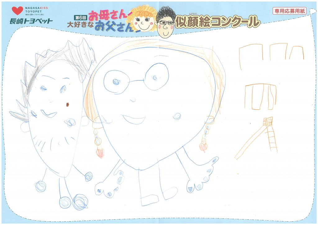 T.Hちゃん(4才)の作品