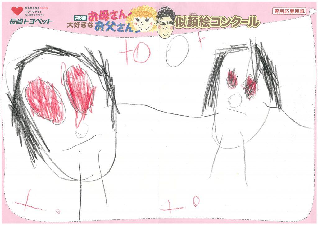 S.Hちゃん(3才)の作品