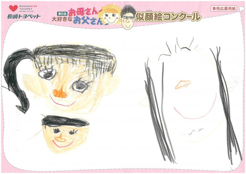 A.Mちゃん(4才)の作品