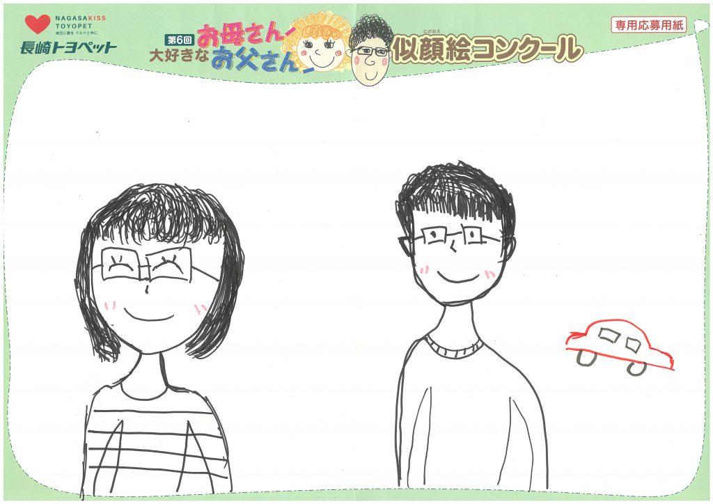 K.Uちゃん(9才)の作品