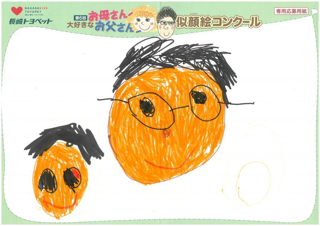 K.Yちゃん(4才)の作品