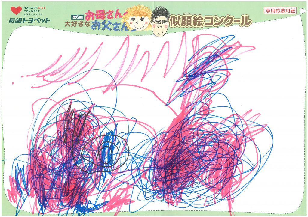 N.Yちゃん(2才)の作品