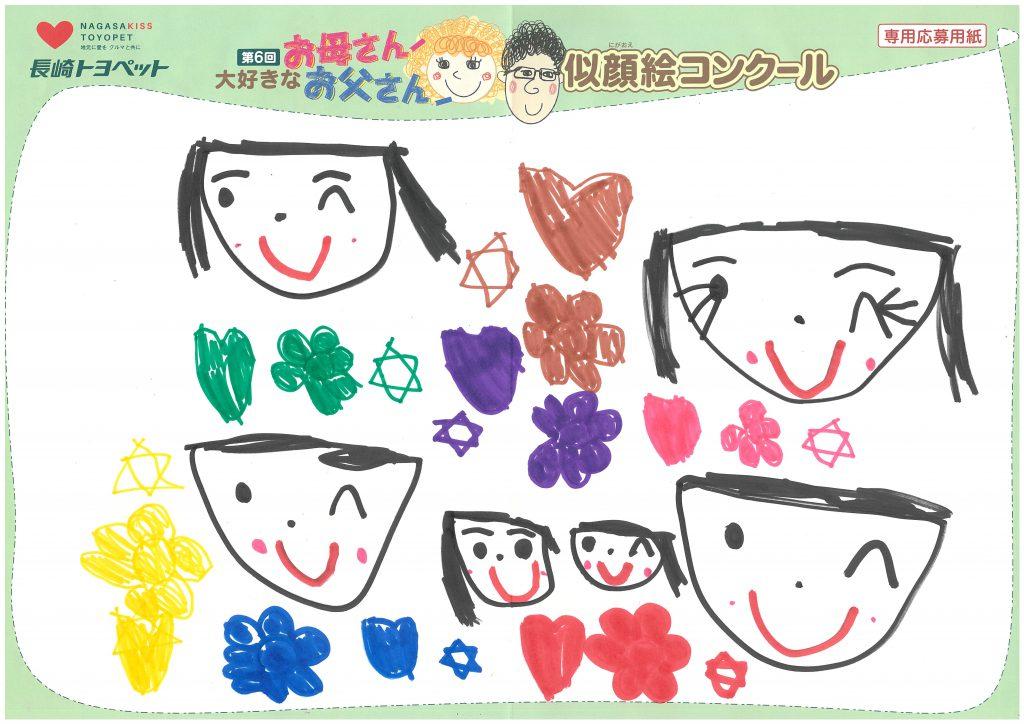 K.Aちゃん(5才)の作品