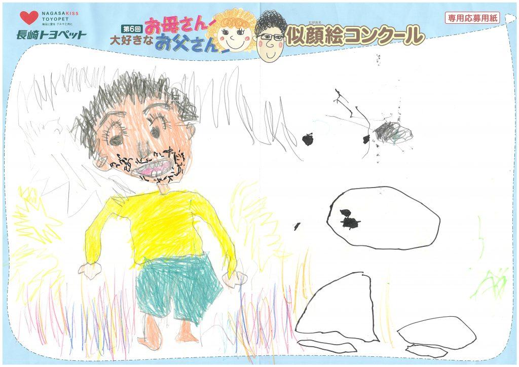 R.Aくん(4才)の作品
