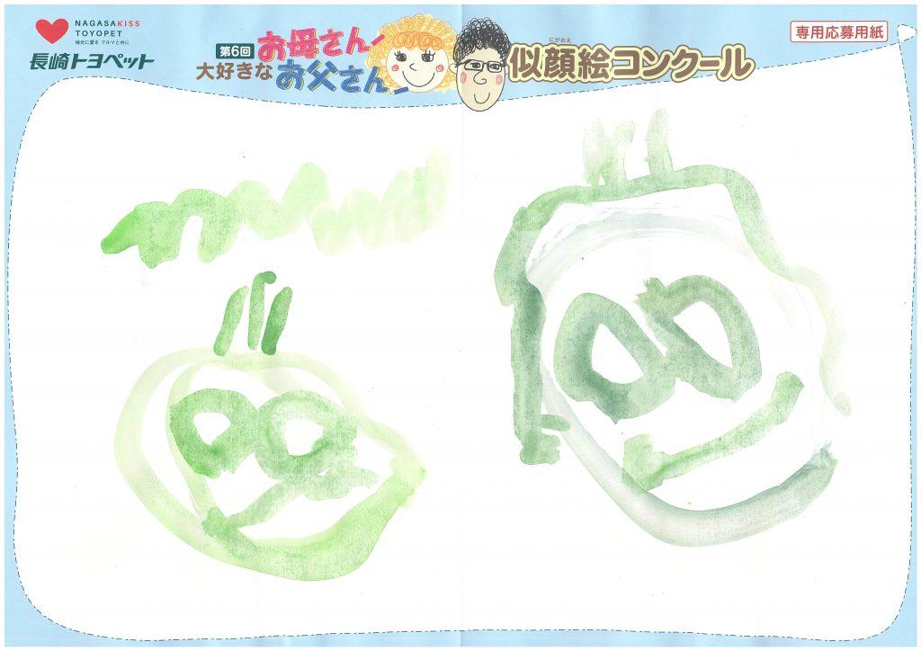 H.Nくん(4才)の作品