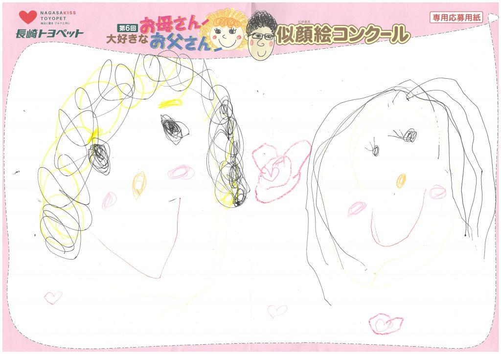 A.Kちゃん(5才)の作品