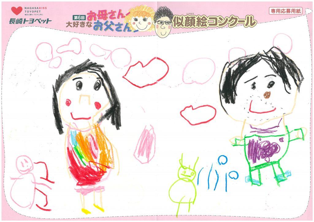 S.Nちゃん(4才)の作品