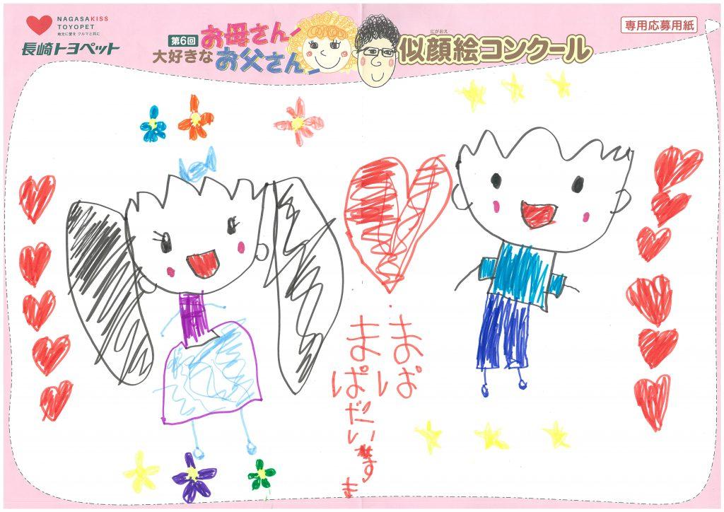 U.Kちゃん(5才)の作品