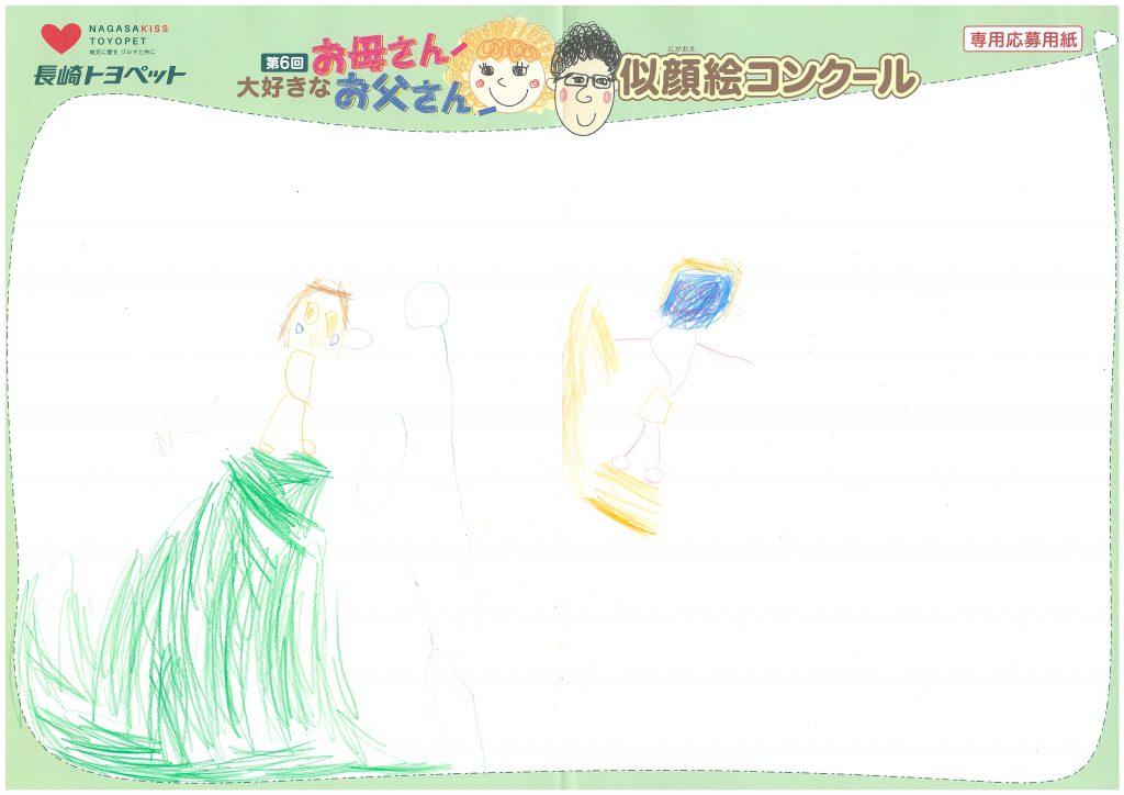 S.Oちゃん(4才)の作品