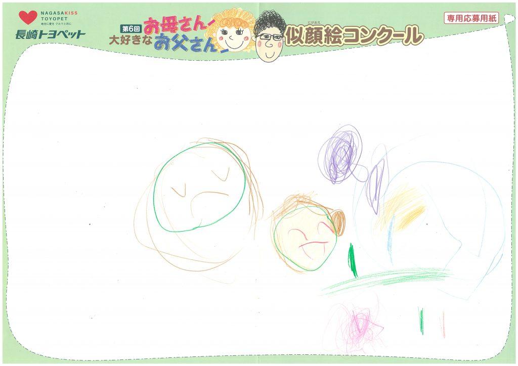 K.Tちゃん(4才)の作品