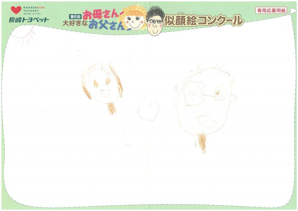 K.Oくん(5才)の作品