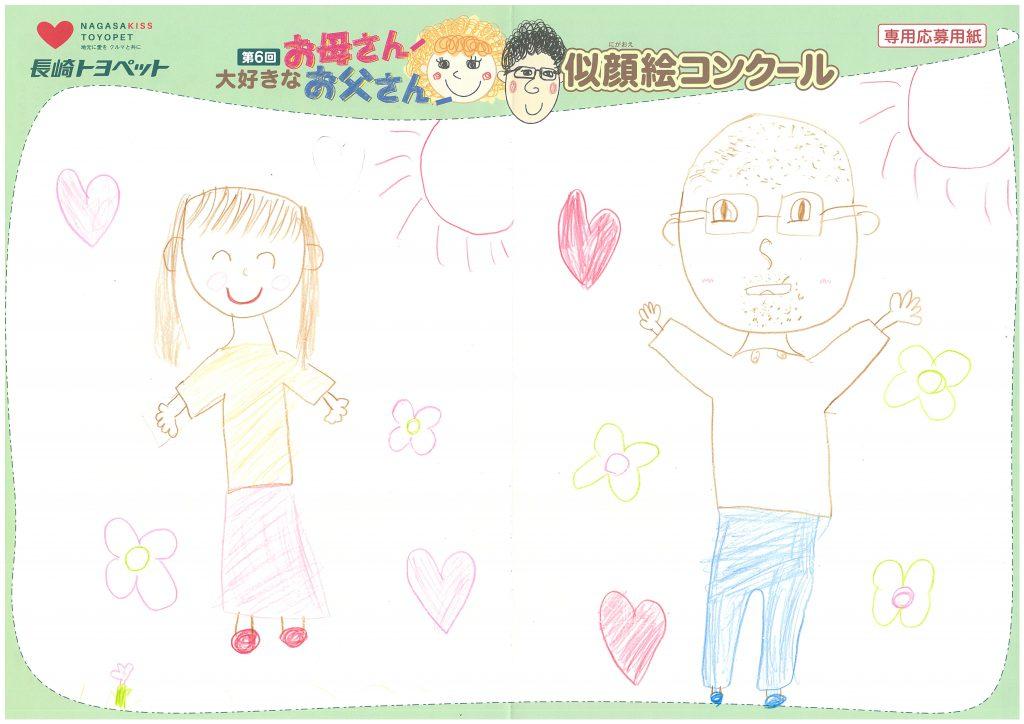 K.Oちゃん(10才)の作品