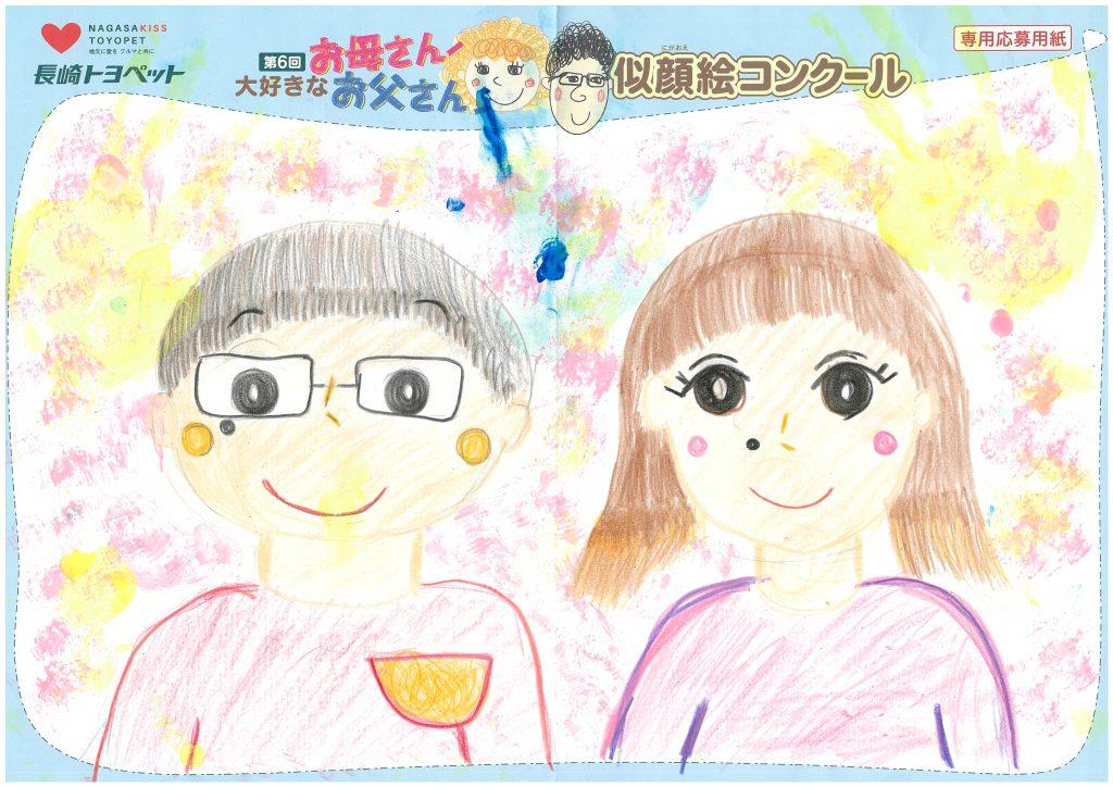 W.Kちゃん(10才)の作品
