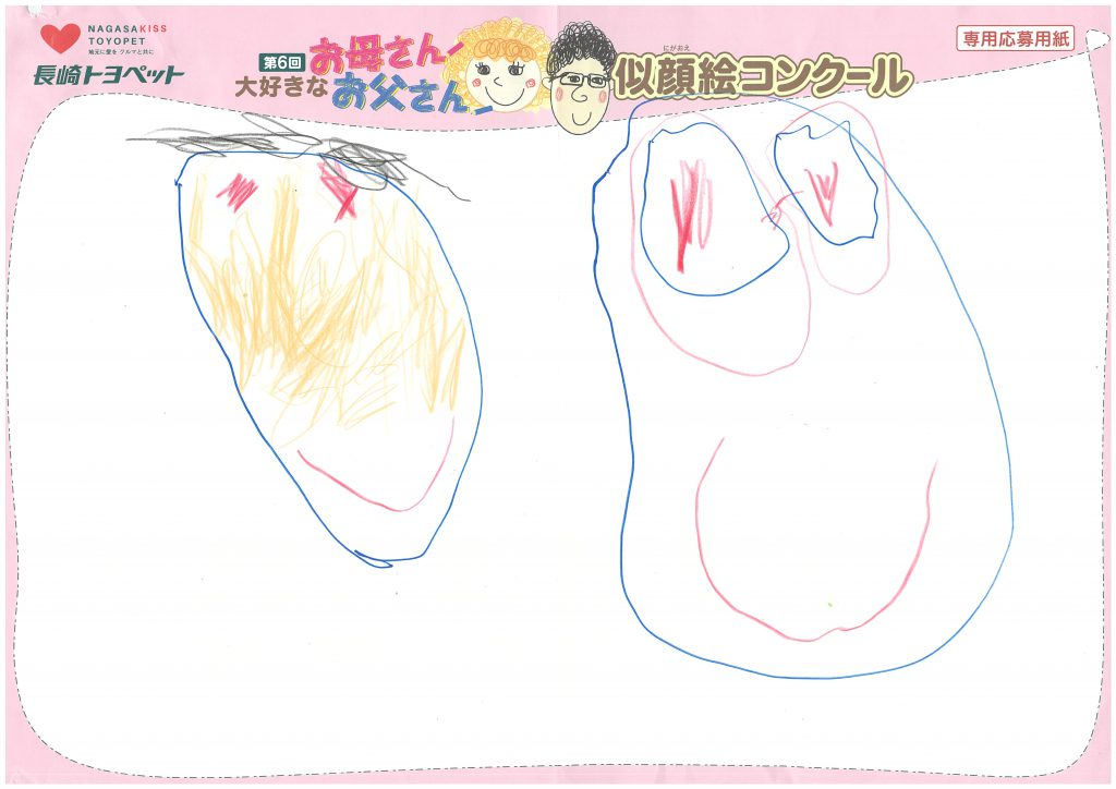 R.Iくん(4才)の作品
