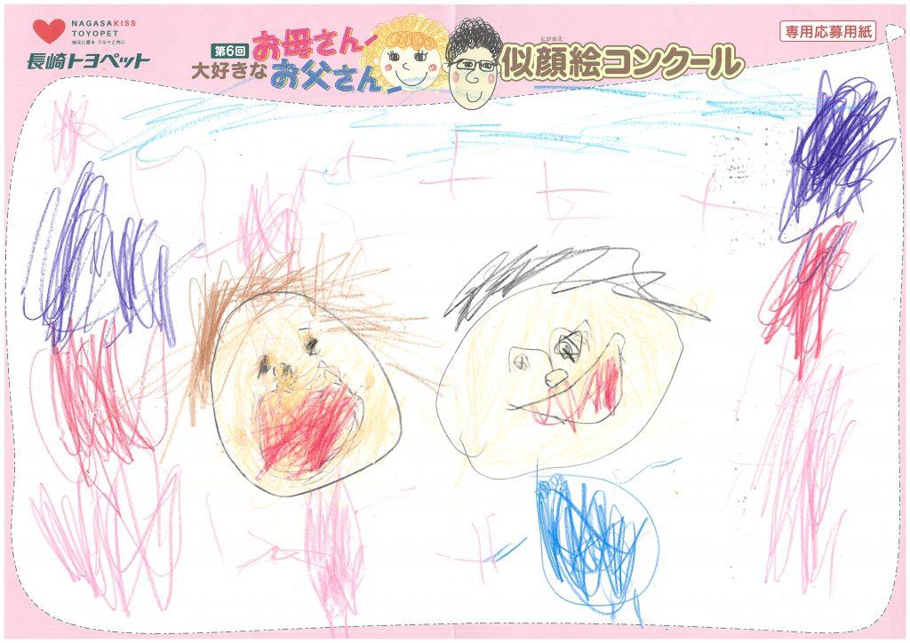 Y.Oちゃん(4才)の作品