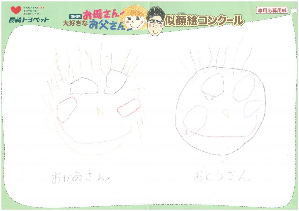 S.Kちゃん(3才)の作品