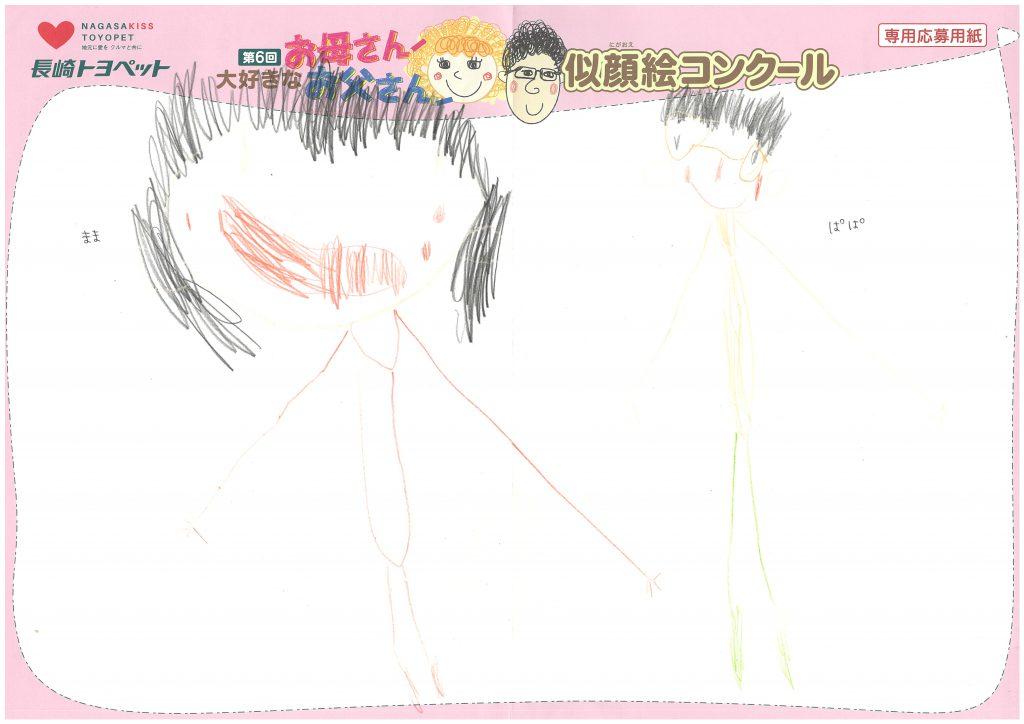 K.Aくん(5才)の作品