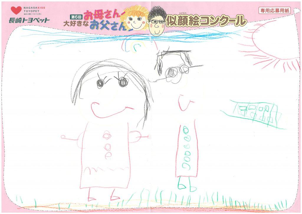 Y.Mちゃん(5才)の作品