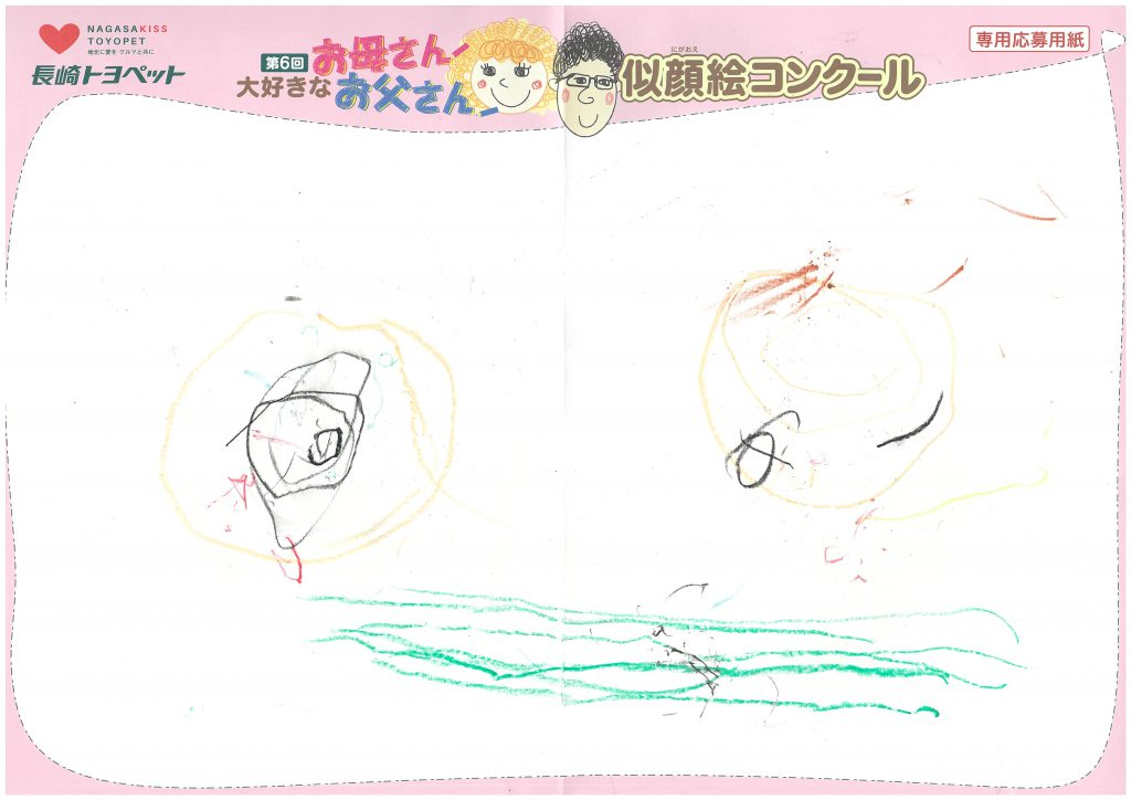 R.Mくん(2才)の作品