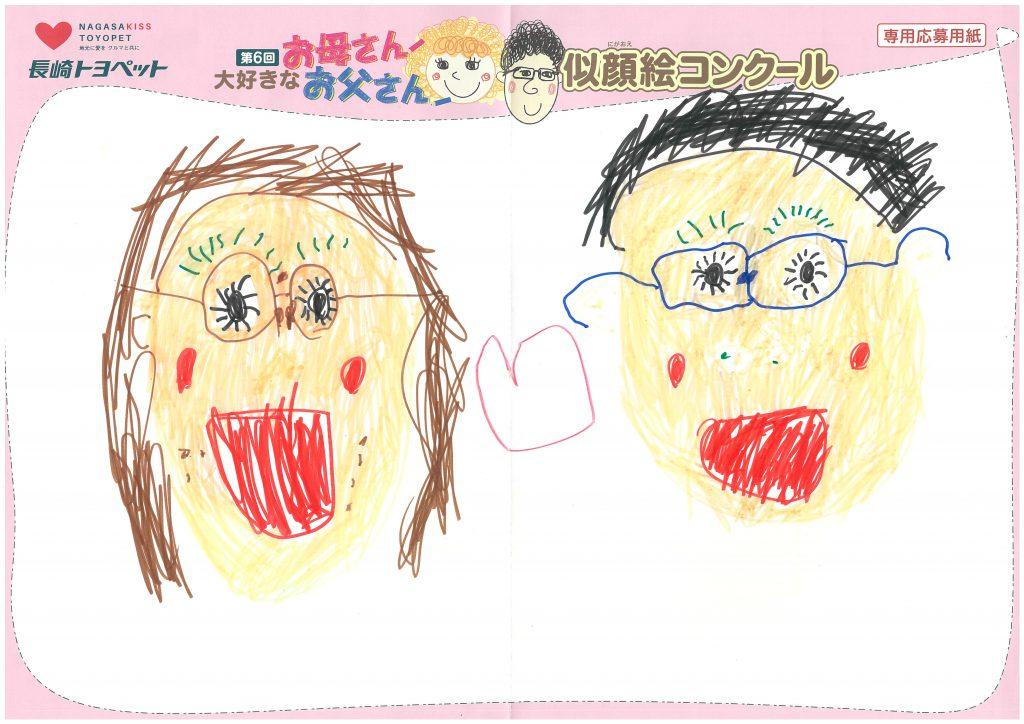 T.Mくん(4才)の作品