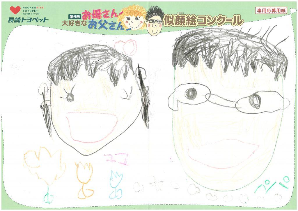 R.Sちゃん(4才)の作品