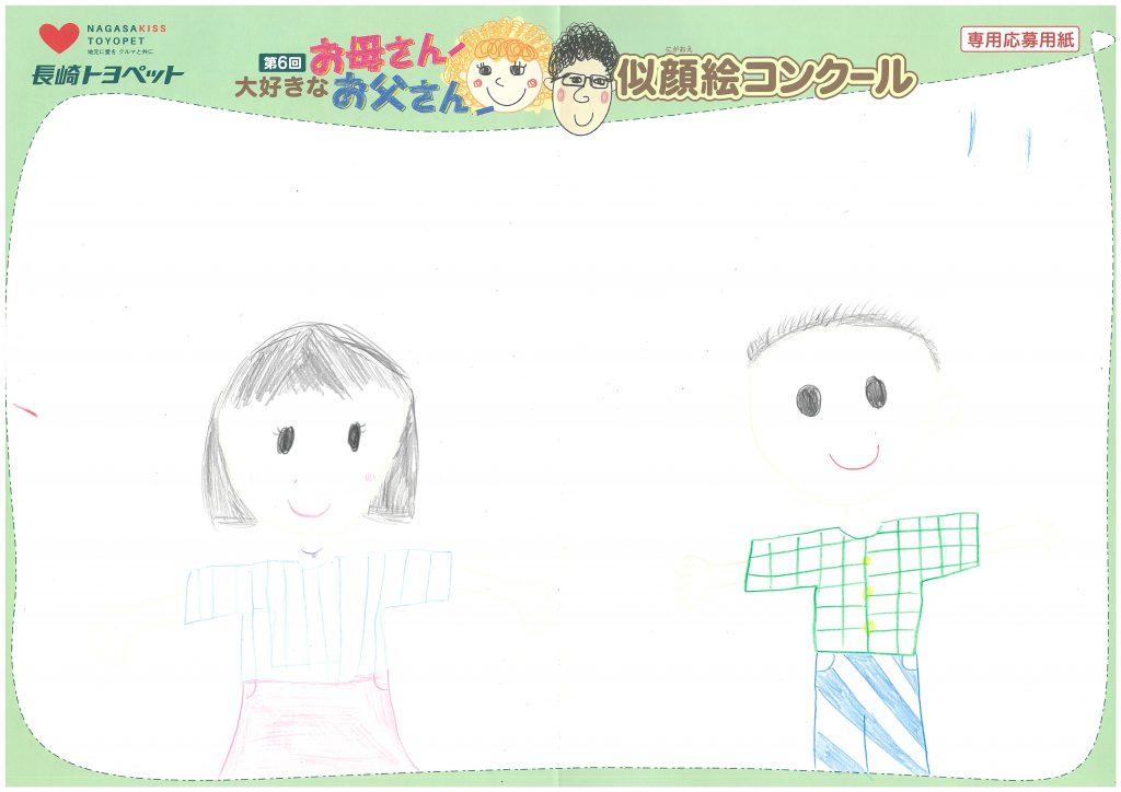 N.Aちゃん(8才)の作品