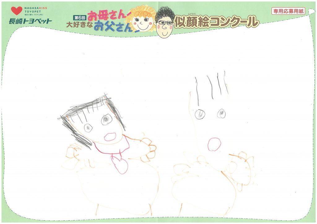 A.Aちゃん(5才)の作品