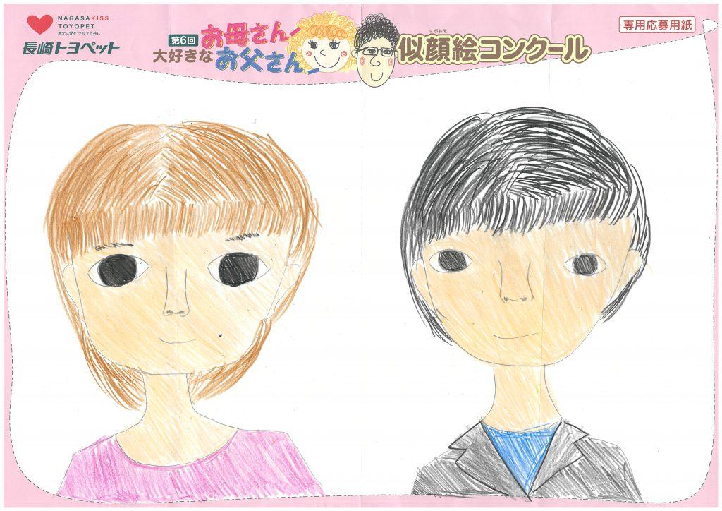 T.Hちゃん(12才)の作品