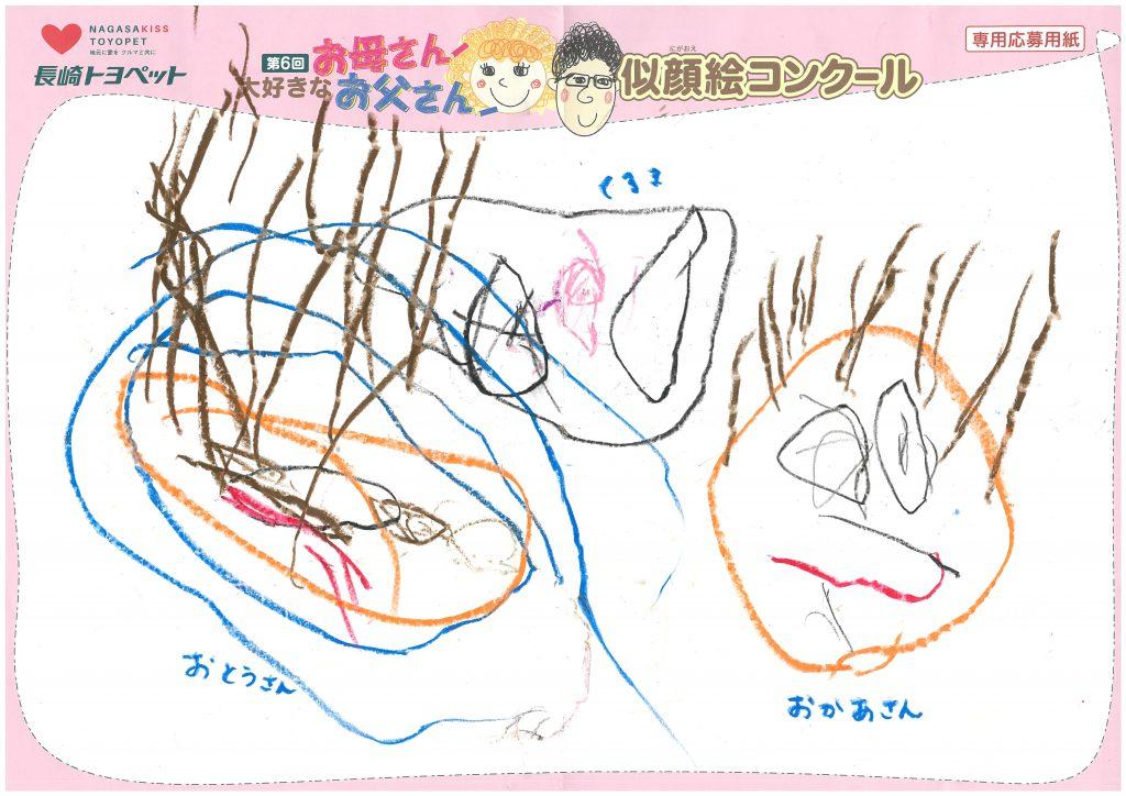 Y.Oくん(3才)の作品