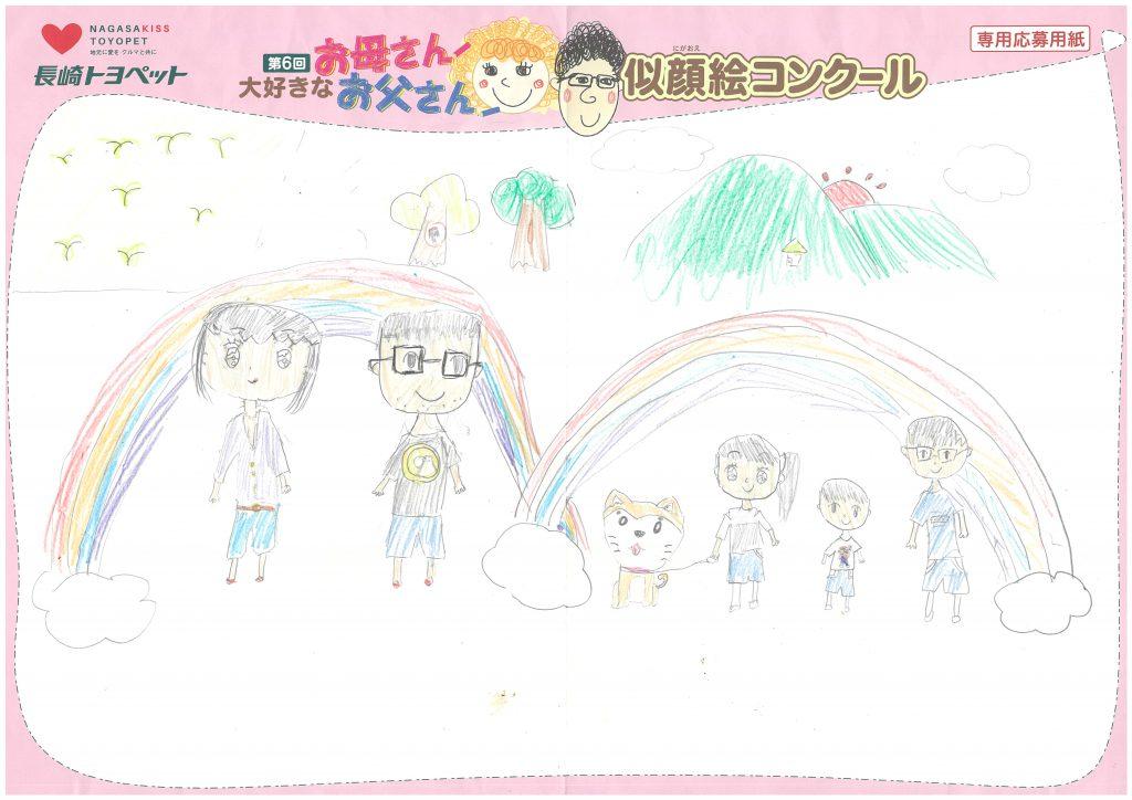 A.Yちゃん(9才)の作品