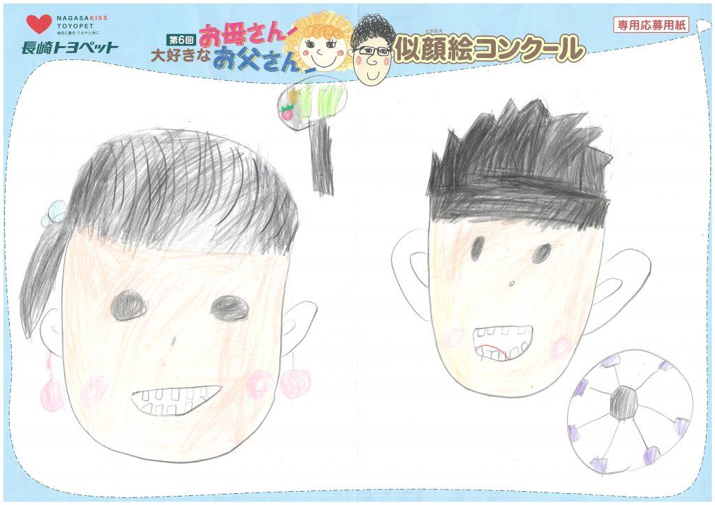 K.Oちゃん(8才)の作品
