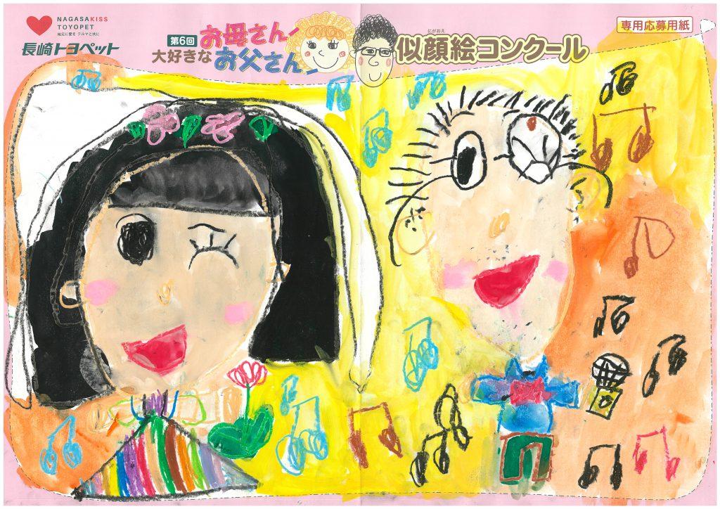 A.Wちゃん(5才)の作品