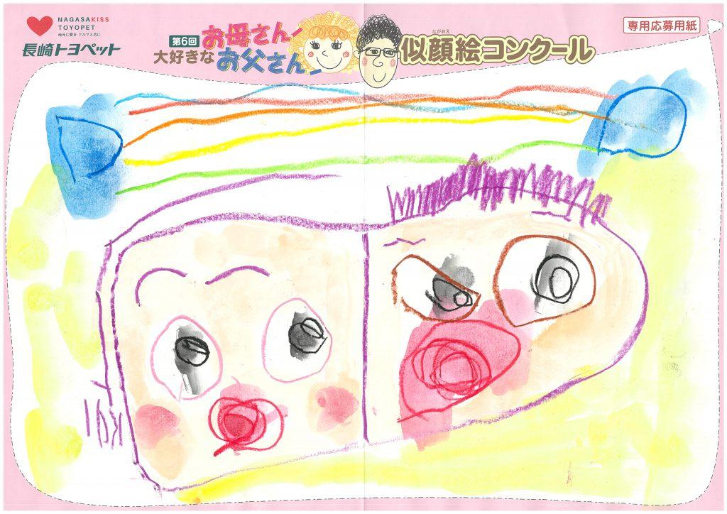 K.Wちゃん(2才)の作品