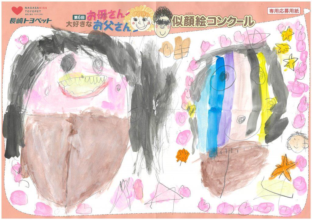 K.Sちゃん(5才)の作品