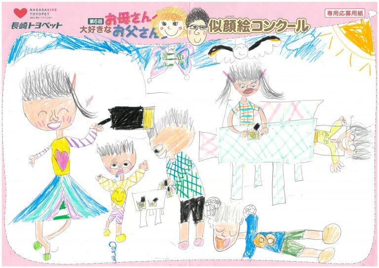 U.Mちゃん(8才)の作品