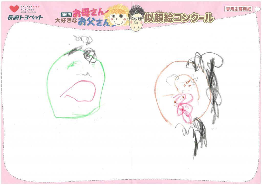M.Tちゃん(2才)の作品