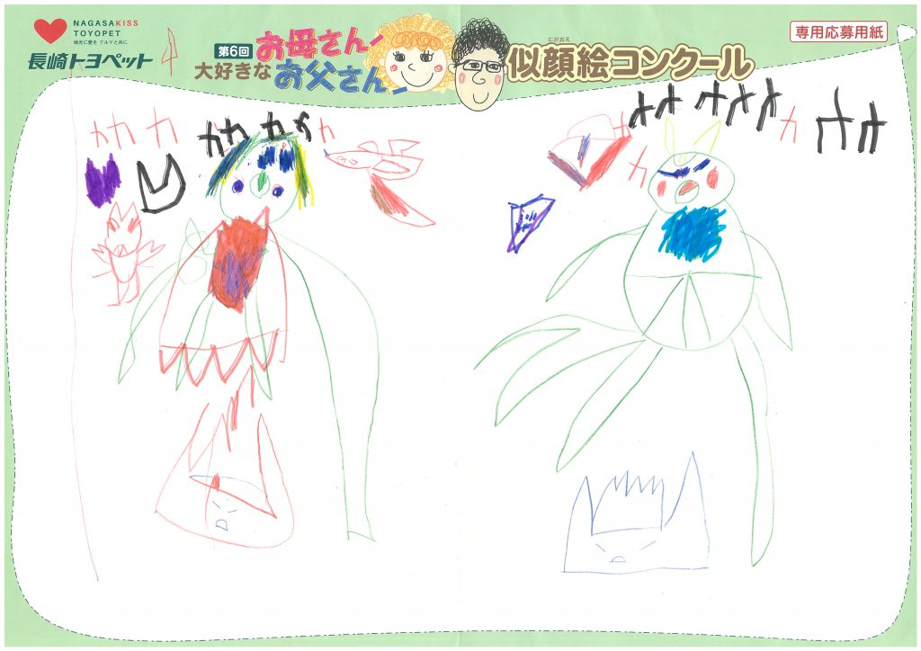 I.Tちゃん(4才)の作品