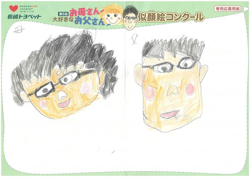 R.Hくん(8才)の作品
